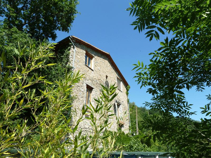 Une ancienne grange transformée en gîte rural